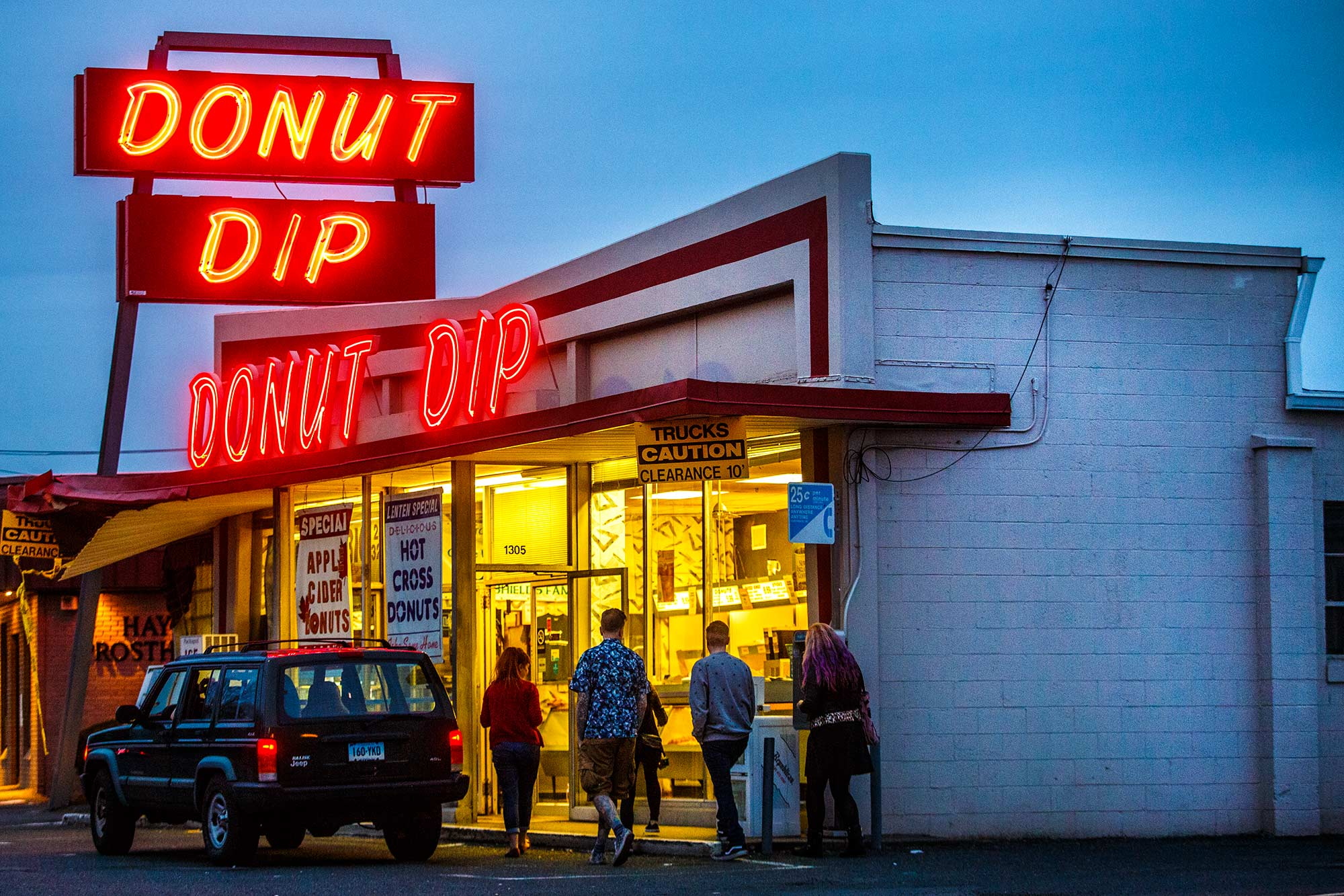 Donut Dip, West Springfield, MA - 3/13