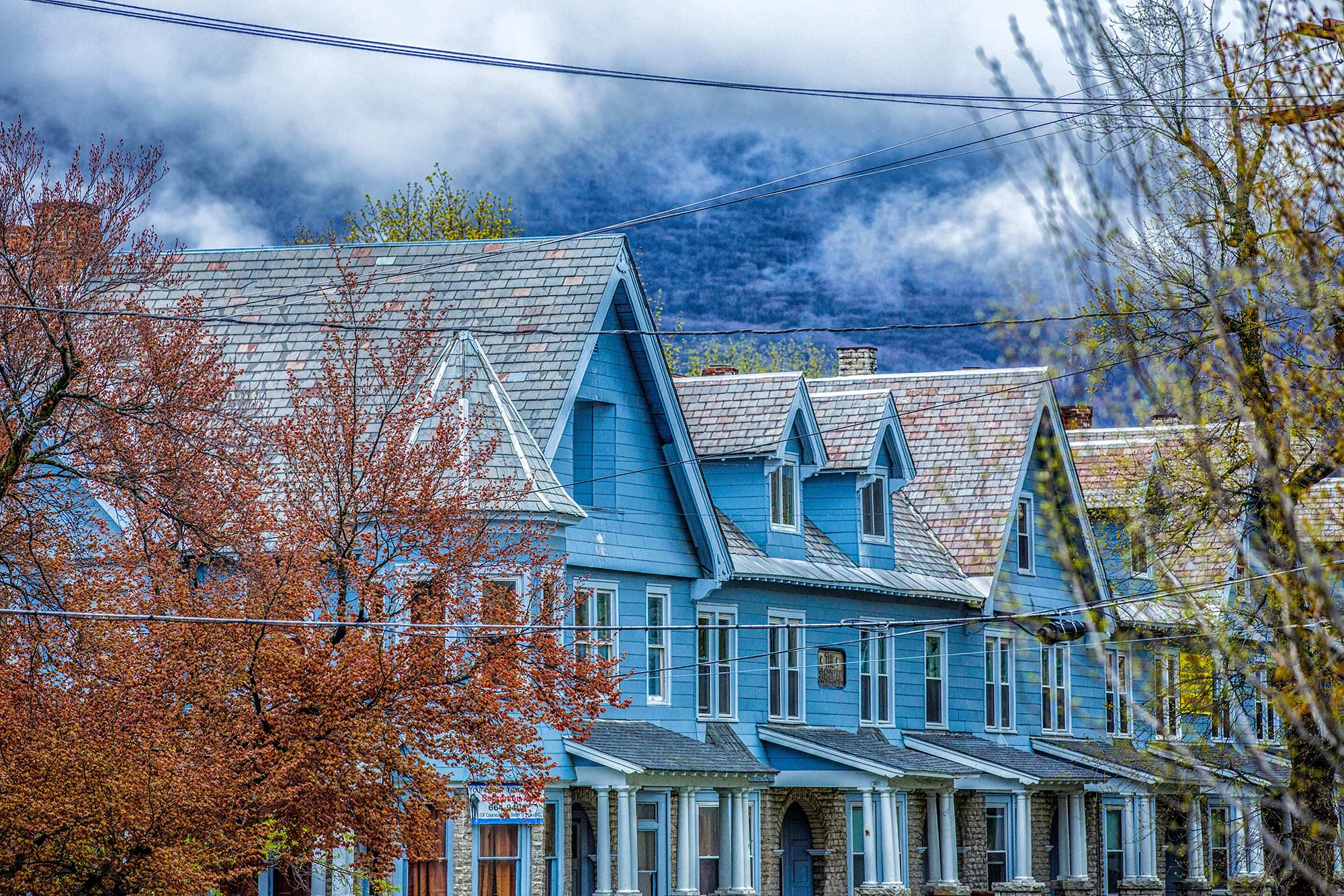 Boardman Row Houses, North Adams, MA - 5/3