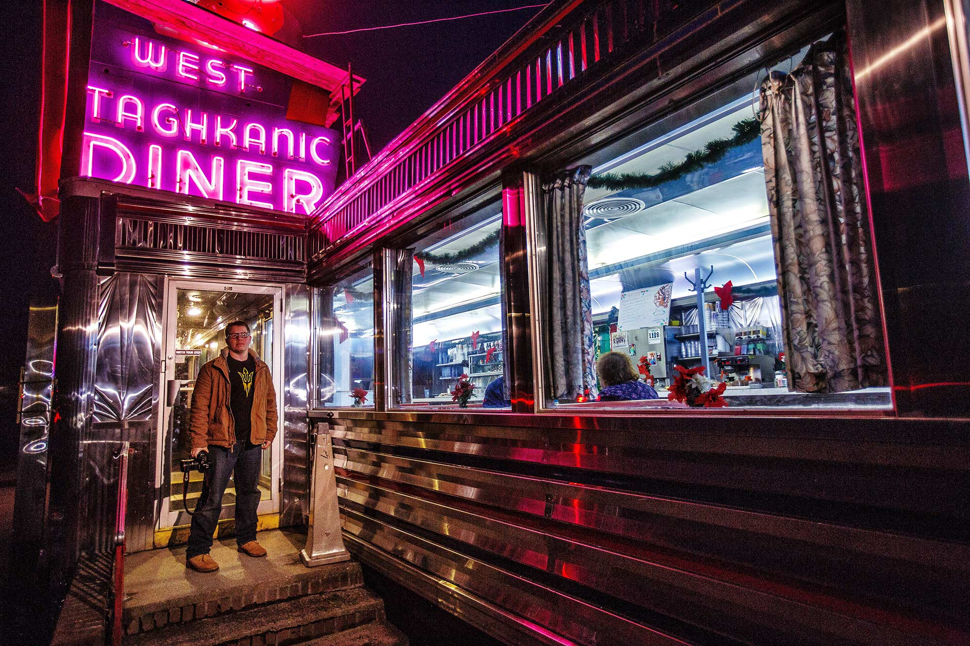 West Taghkanic Diner, Ancram, NY 12/28/14