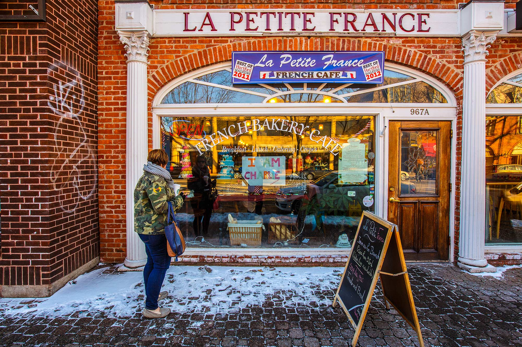 Le Petite France, West Hartford, CT - 1/10/15