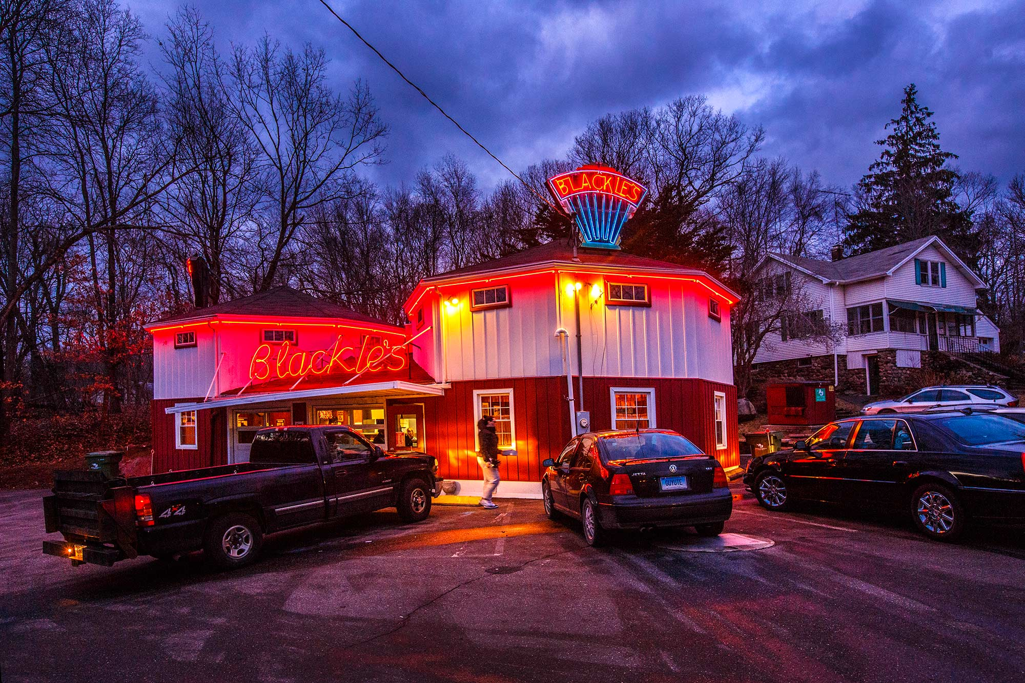 Blackies Hot Dogs, Cheshire, CT  - 1/19/15