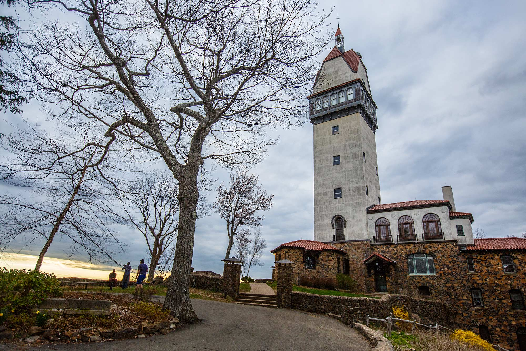First Trip to Heublein Tower this Spring, SImsbury, CT - 5/1/15
