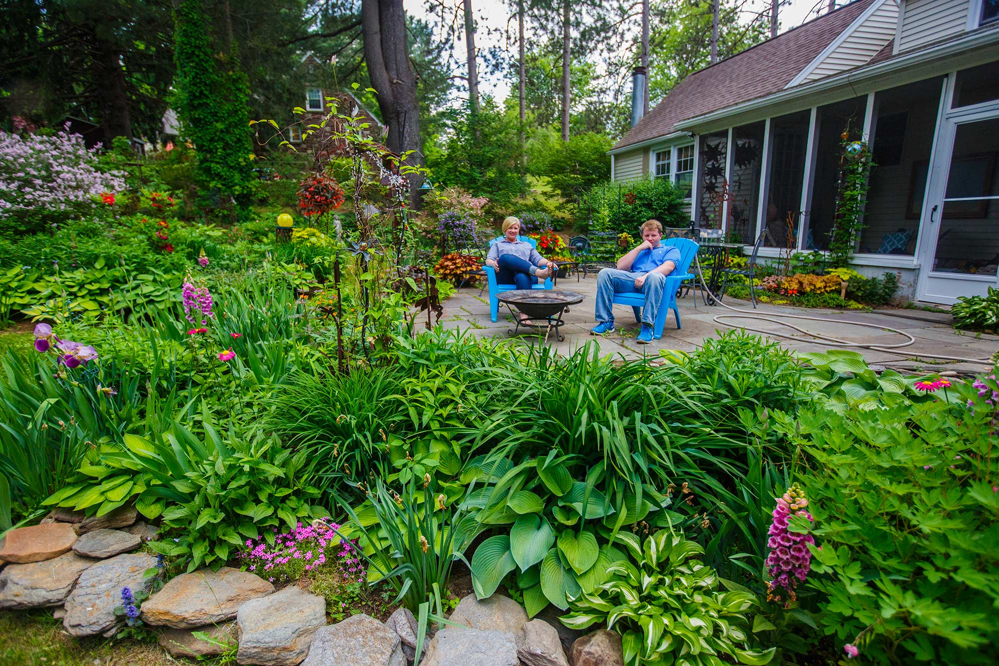 Backyard Garden, Bloomfield, CT - 5/25/15