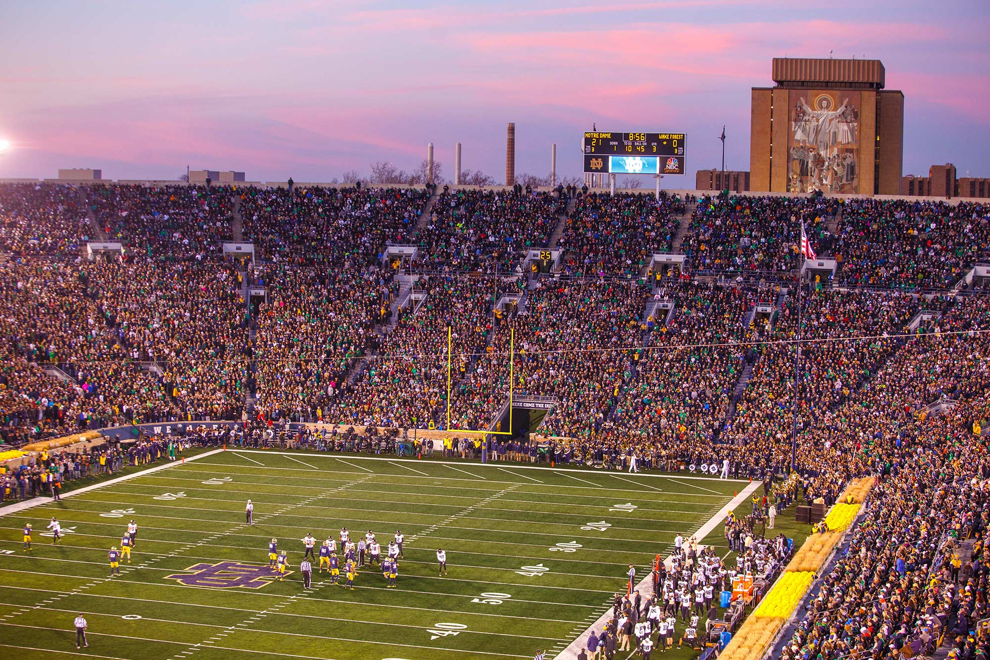 Notre Dame Stadium, South Bend, IN - 11/14